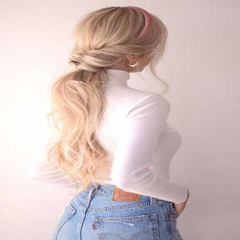 3 EASY FALL HAIRSTYLES - -