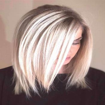 A lob haircut is something you should consider next time you are going to visit ... Hairstyle