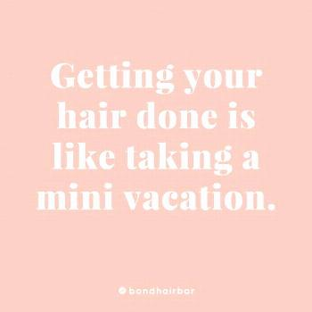 But what do hairstylists do to relax Even I need to get away sometimes! Im currently taking a trip